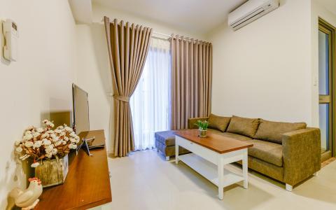 Căn hộ Masteri Thảo Điền 2 phòng ngủ tầng trung T1 nội thất đầy đủ