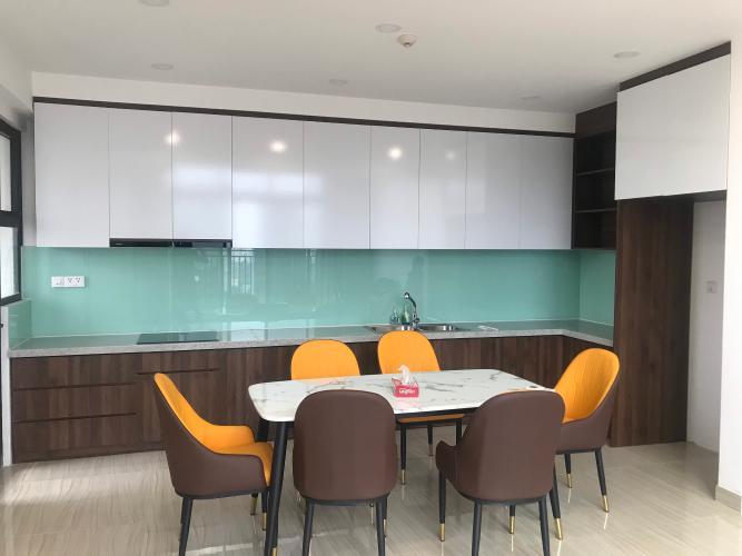 Phòng bếp căn hộ Riviera Point Căn hộ Duplex Riviera Point tầng 20 bàn giao nội thất cơ bản, view thành phố.