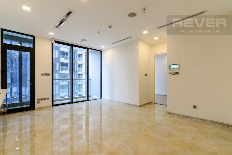 Phòng Khách Cho thuê căn hộ Vinhomes Golden River 1PN, tháp The Luxury 6, hướng Đông Bắc, view sông Sài Gòn mát mẻ