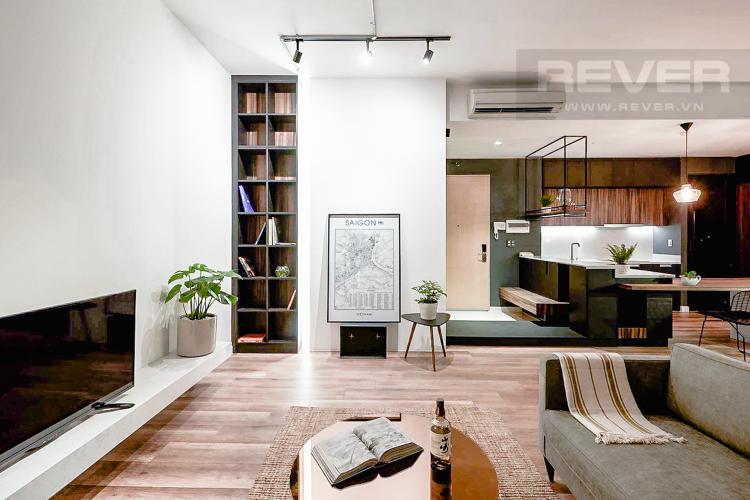 Phòng Khách căn hộ THE ASCENT Bán căn hộ The Ascent 2PN, tầng trung, diện tích 99m2, đầy đủ nội thất