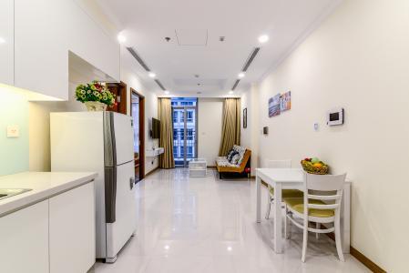 Căn hộ Vinhomes Central Park 1 phòng ngủ tầng trung L6 hướng Tây Nam