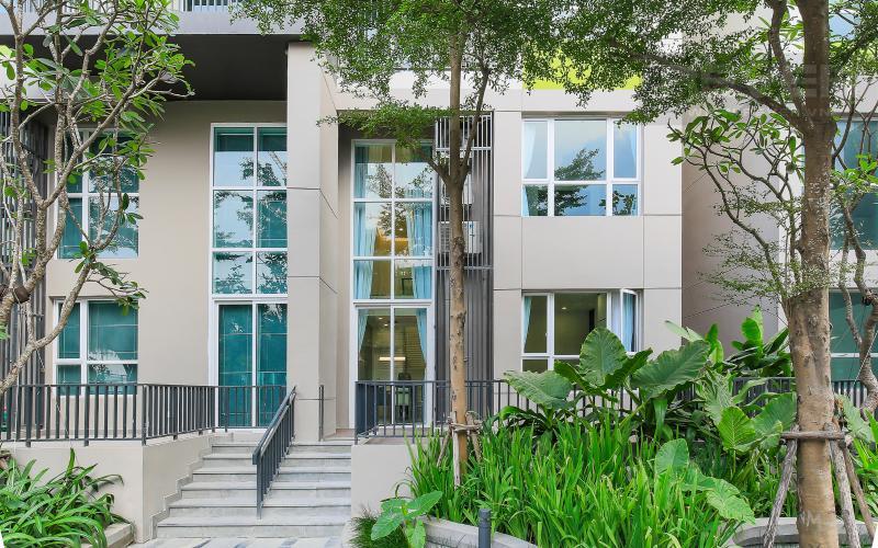 Mặt Tiền Lofthouse Vista Verde 3 phòng ngủ tầng thấp T1 nội thất đầy đủ