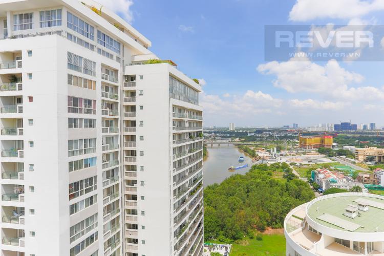 View Căn hộ Riverpark Residence 3 phòng ngủ tầng thấp view sông