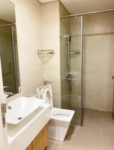 toilet Masteri Millennium Căn hộ Masteri Millennium đầy đủ nội thất, view sông và thành phố.