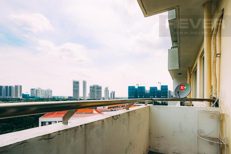 Ban Công Bán căn hộ Grand View Quận 7 tầng thấp 2PN đầy đủ nội thất