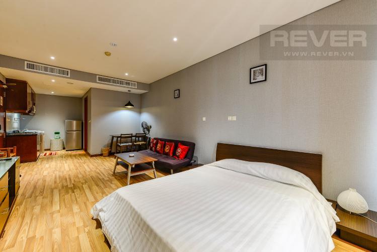 Phòng ngủ Cho thuê căn hộ The Lancaster tầng trung, 1PN, đầy đủ nội thất