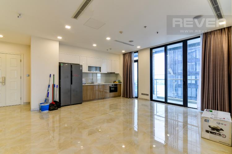 Phòng Khách Bán căn hộ Vinhomes Golden River tầng cao, tháp The Aqua 4, view ngắm thành phố