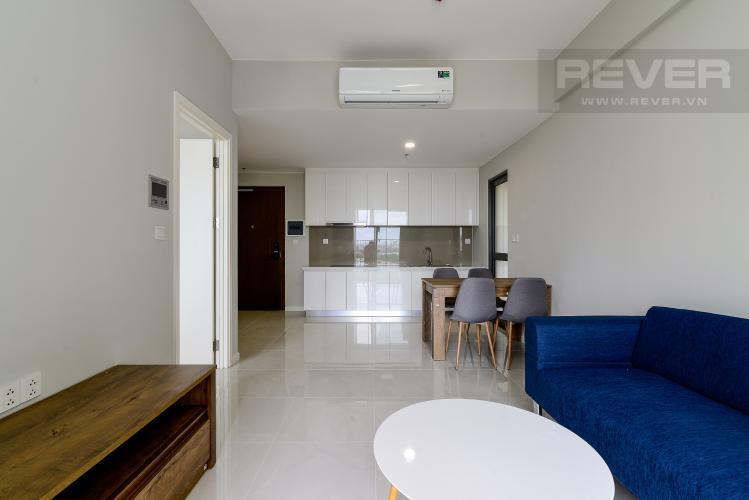 Phòng Khách Cho thuê căn hộ Masteri An Phú 1PN, tầng thấp, tháp B, đầy đủ nội thất