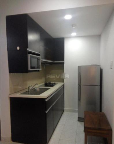 Phòng bếp chung cư Vạn Đô Quận 4 Căn hộ chung cư Vạn Đô tầng thấp, đầy đủ nội thất.