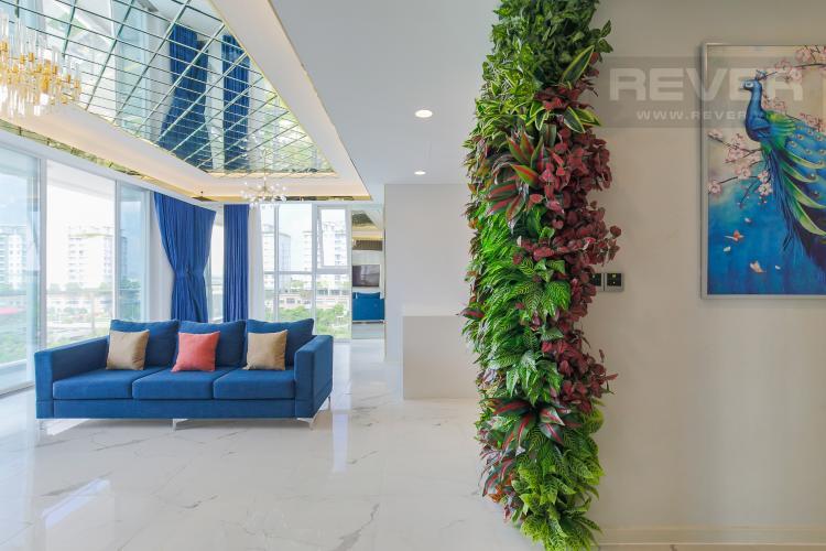 Phòng Khách Cho thuê căn hộ Sarina Condominium 3PN, tầng thấp, đầy đủ nội thất, hướng Đông Nam đón gió