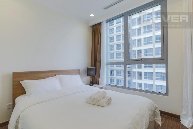 Phòng Ngủ 2 Cho thuê căn hộ Vinhomes Central Park 2PN tầng trung, diện tích 71m2, đầy đủ nội thất