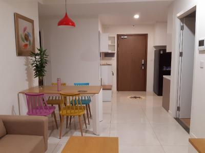 Cho thuê căn hộ Masteri Millennium tầng thấp, diện tích 70m2 - 2 phòng ngủ, đầy đủ nội thất