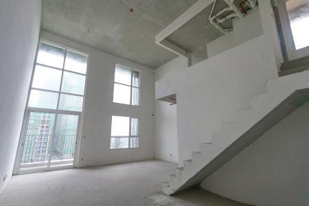 Duplex Vista Verde 2 phòng ngủ, tầng thấp, tháp T1, view hồ bơi