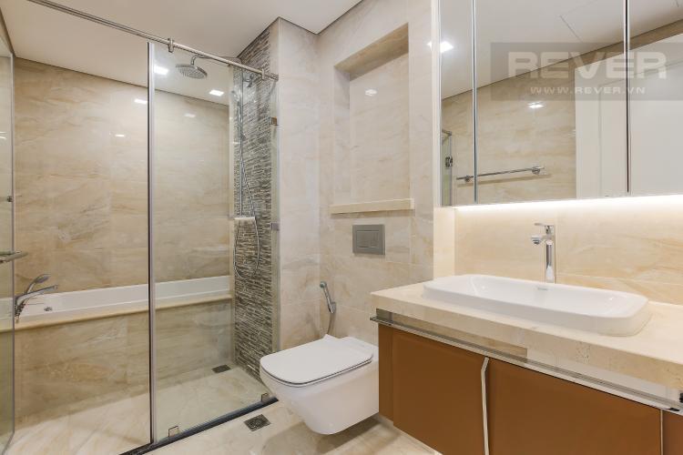 Phòng Tắm 1 Căn hộ Vinhomes Golden River 3 phòng ngủ tầng cao Aqua 4 view sông