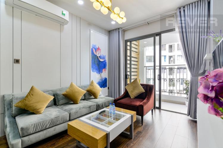 Cho thuê căn hộ Saigon Royal 2PN, tầng trung, tháp A, diện tích 79m2, đầy đủ nội thất