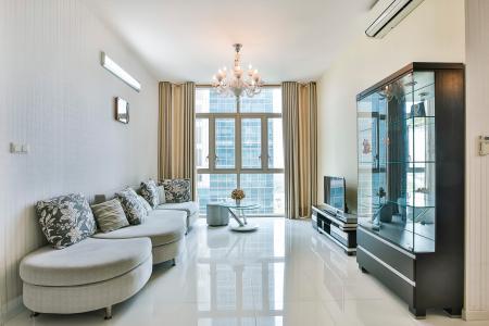 Căn hộ The Vista An Phú 2 phòng ngủ tầng trung T3 đầy đủ nội thất