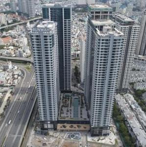 Bán căn hộ Sunwah Pearl 1 phòng ngủ, thuộc tháp B2 White House, tầng cao, diện tích sàn 44m2