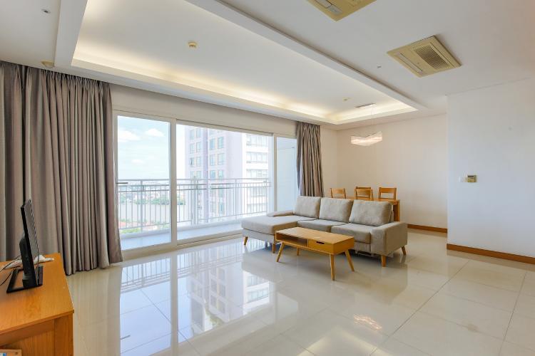 Căn hộ Xi Riverview Palace 3 phòng ngủ tầng trung block 102 hướng Nam