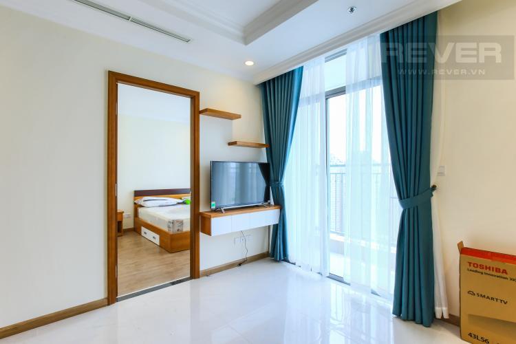Phòng Khách Căn hộ Vinhomes Central Park 3 phòng ngủ tầng cao L2 đầy đủ nội thất