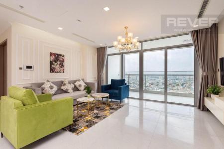 Bán hoặc cho thuê căn hộ Vinhomes Central Park 4PN, tháp Park 3, đầy đủ nội thất, hướng Đông, view sông Sài Gòn và công viên trung tâm