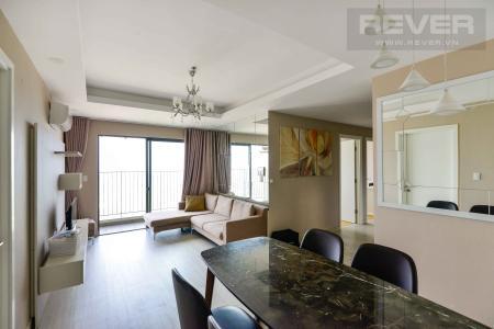 Cho thuê căn hộ Masteri Thảo Điền 3PN, tháp T4, đầy đủ nội thất, view sông thông thoáng