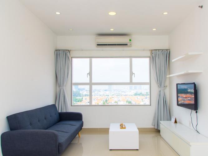 Cho thuê căn hộ Sunrise City 2PN, tháp W2 khu Central Plaza, đầy đủ nội thất, view khu dân cư