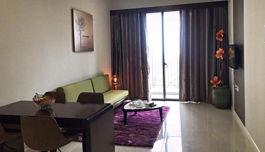 Bán căn hộ Masteri An Phú 2 phòng ngủ, tầng cao, tháp A, đầy đủ nội thất, hướng Tây Bắc