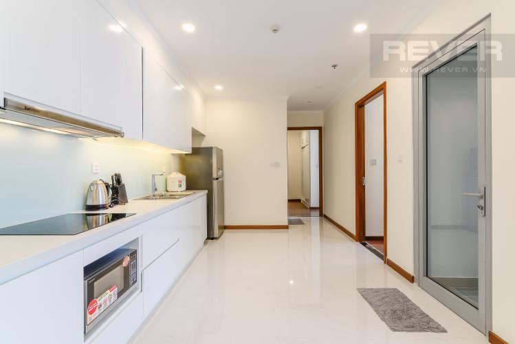 Nhà Bếp Căn hộ Vinhomes Central Park 2 phòng ngủ tầng cao Landmark 6