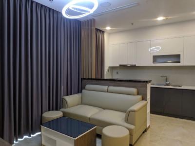 Cho thuê căn hộ Vinhomes Golden River 2PN, diện tích 68m2, đầy đủ nội thất, view sông Sài Gòn