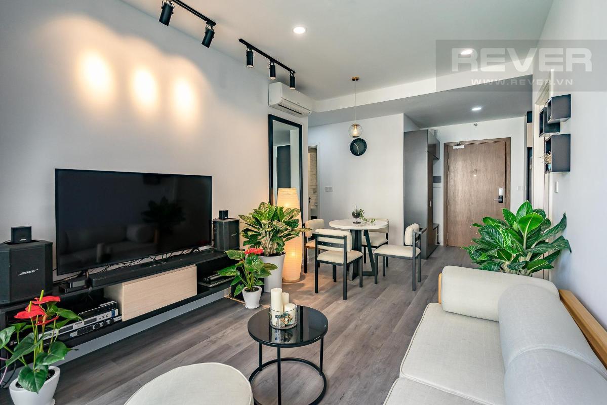 2fee07fbaab74ce915a6 Bán căn hộ Masteri Millennium 2 phòng ngủ, block B, đầy đủ nội thất, view Bitexco