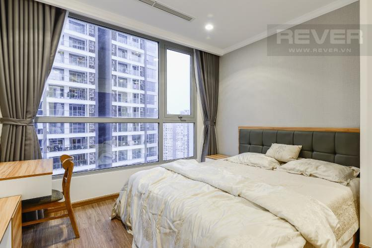 Phòng Ngủ 3 Cho thuê căn hộ Vinhomes Central Park tầng cao, 2PN đầy đủ nội thất, tiện nghi, view nội khu
