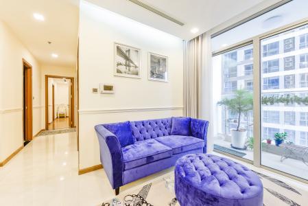 Căn hộ Vinhomes Central Park 3 phòng ngủ tầng trung P3 view sông