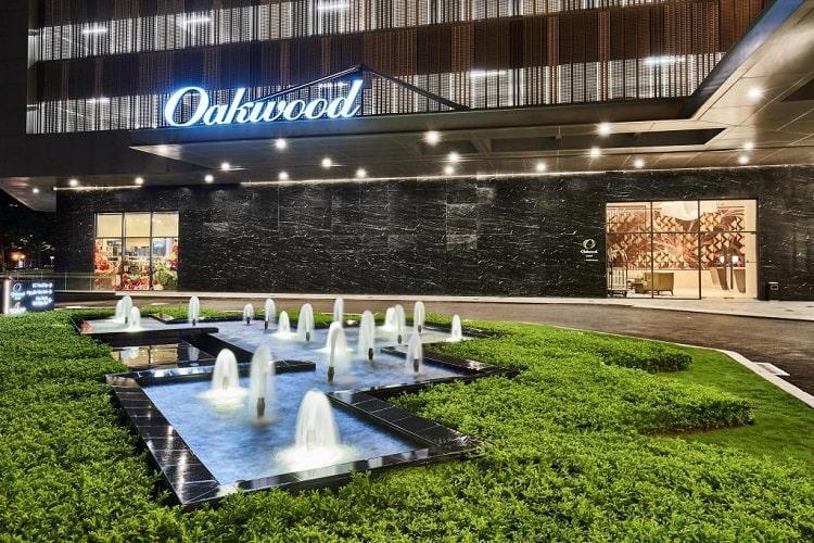Oakwood Residence - Phối cảnh Oakwood Residence