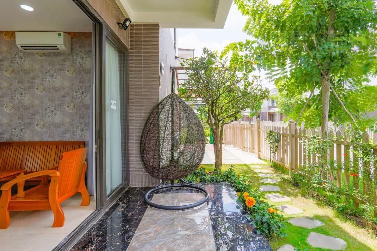 Không Gian Bên Hông Nhà Biệt thự 5 phòng ngủ dự án Valora Kikyo diện tích 290m2