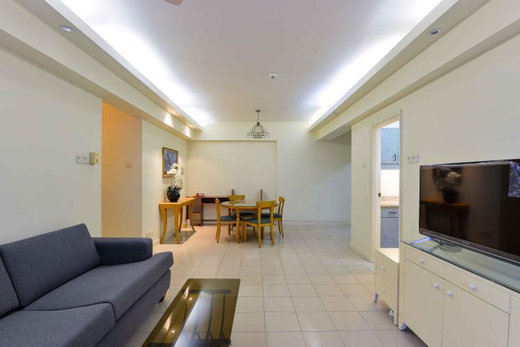Phòng Khách Cho thuê căn hộ Parkland Apartment 3PN, diện tích 140m2, đầy đủ nội thất