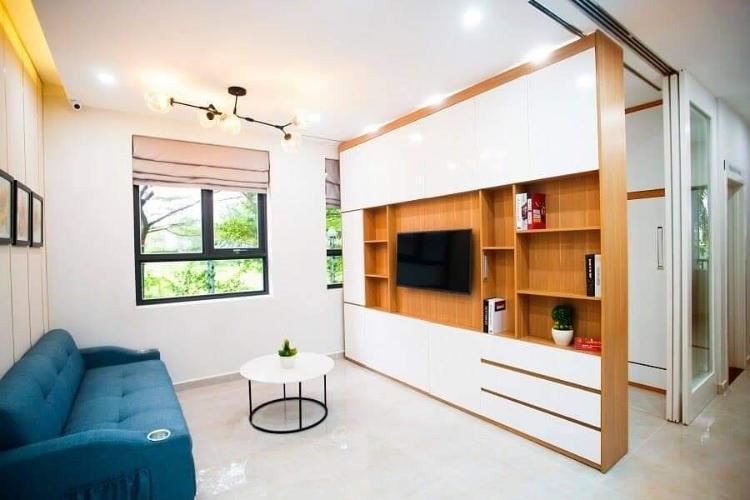 Nhà mẫu căn hộ Saigon Intela Căn hộ tầng cao Saigon Intela đầy đủ nội thất, view thành phố.