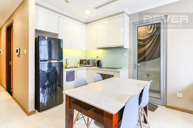 Phòng Ăn & Bếp Căn hộ Vinhomes Central Park 2 phòng ngủ tầng cao L1 nội thất đầy đủ