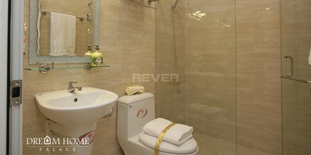 Phòng tắm Dream Home Palace Quận 8 Căn hộ Dream Home Palace nội thất cơ bản, bàn giao cuối 2020.