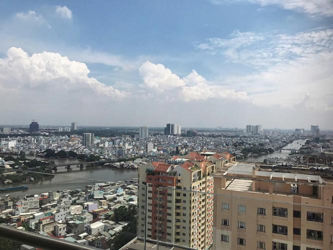 View Cho thuê căn hộ The Gold View 2PN, tầng trung, đầy đủ nội thất, view sông và thành phố