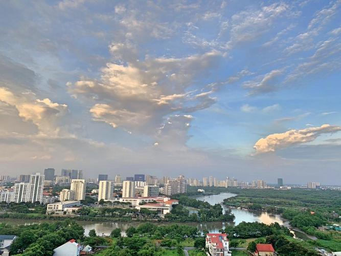 View căn hộ Saigon South Residence Cho thuê căn hộ Saigon South Residence tầng trung, diện tích 74m2