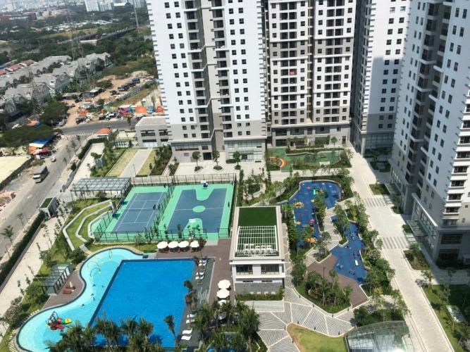 view  căn hộ Saigon South Residence Căn hộ tầng cao Saigon South Residence nhà thô, thuận tiện thiết kế.