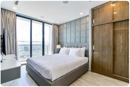 Bán căn hộ Vinhomes Golden River 2PN, tháp The Aqua 1, nội thất cơ bản, view sông và Landmark 81