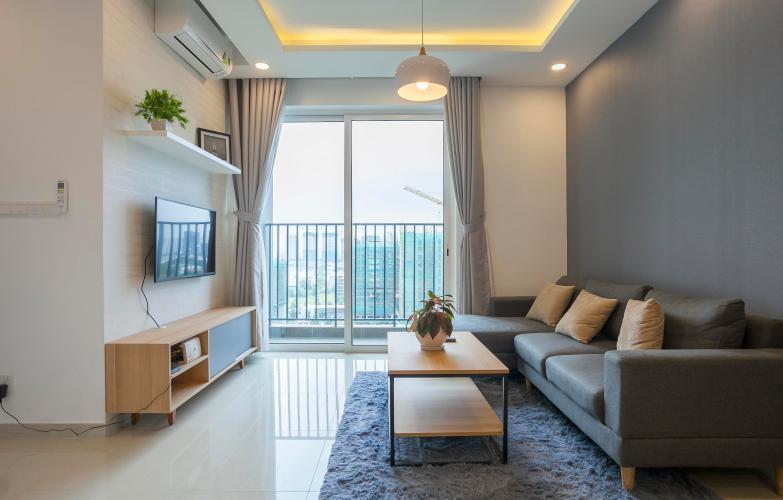 Phòng Khách Căn hộ Vista Verde 1 phòng ngủ tầng trung T1 nội thất đầy đủ