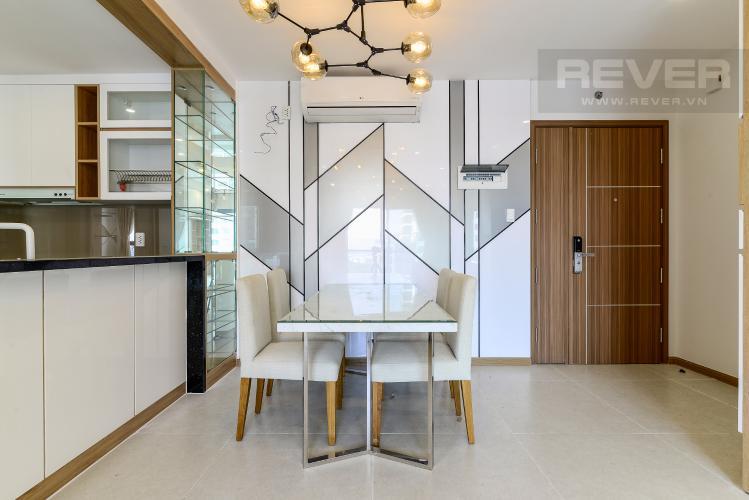 Phòng Ăn Cho thuê căn hộ New City Thủ Thiêm 3PN 2WC, nội thất cơ bản, view hướng nội khu
