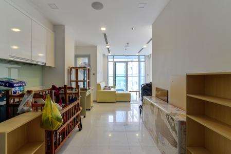 Cho thuê căn hộ Vinhomes Central Park 2PN tầng cao tháp Park 6, đầy đủ nội thất, view sông mát mẻ
