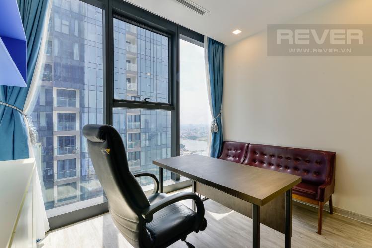 Phòng Làm Việc Bán căn hộ Vinhomes Golden River 3PN, tầng cao, đầy đủ nội thất, view Thủ Thiêm và sông Sài Gòn
