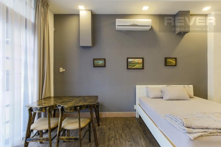 Phòng Ngủ Căn hộ dịch vụ Đường Mai Thị Lựu 1 phòng ngủ nội thất đầy đủ