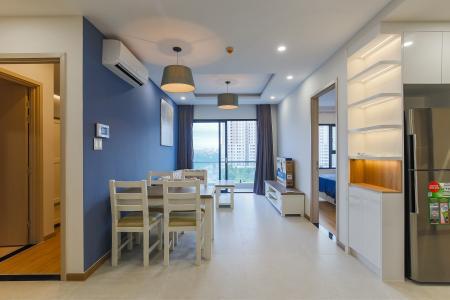 Căn hộ New City Thủ Thiêm 2PN 2WC, nội thất đầy đủ, view đẹp