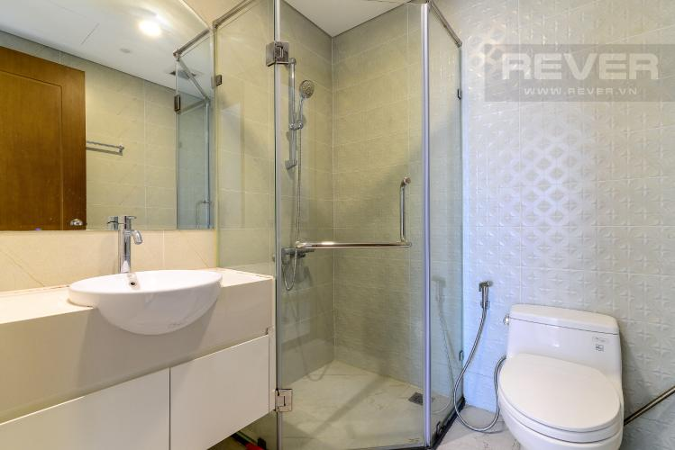 Phòng Tắm 1 Bán căn hộ Vinhomes Central Park 3PN, tầng thấp, đầy đủ nội thất, view hồ bơi