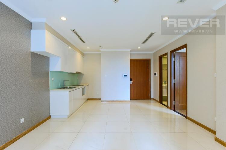 Phòng Bếp Căn hộ Vinhomes Central Park 1 phòng ngủ tầng thấp Central 2